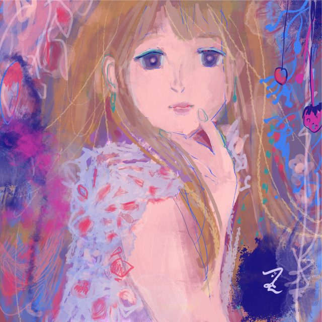 3.Romantic girl